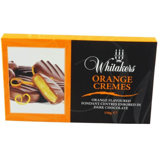 Whitakers Orange Cremes 150g