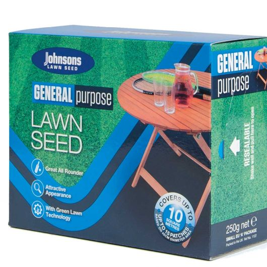 Johnsons General Purpose Lawn Seed 250g