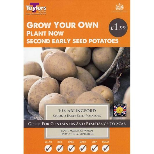 Taylors Seed Potato Starter Pack - Carlingford (10)