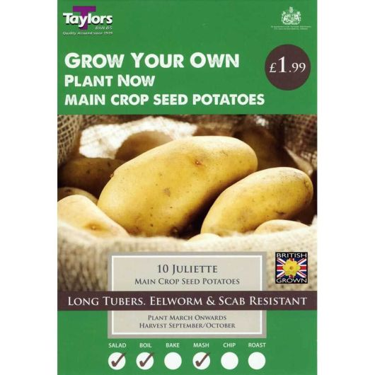 Taylors Seed Potato Starter Pack - Juliette (10)