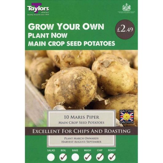 Taylors Seed Potato Starter Pack - Maris Piper Main Crop (10)