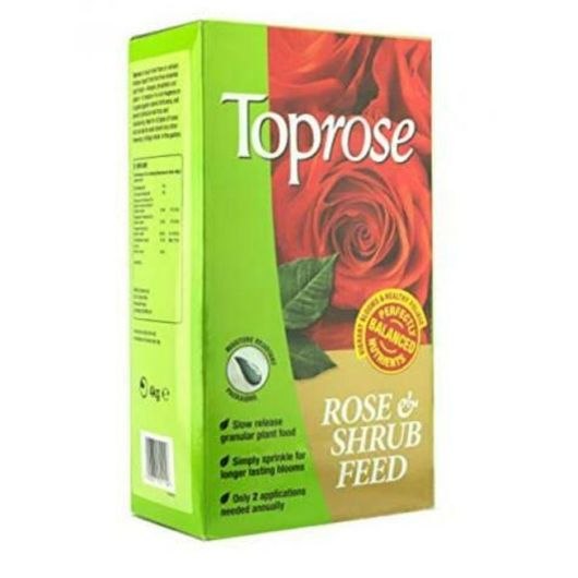 Toprose Rose and Shrub Feed 4kg
