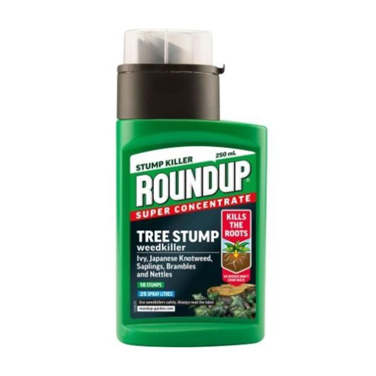 Roundup Tree Stump and Rootkill weedkiller 250ml
