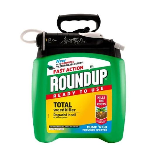 Fast Action Pump N Go Roundup Weed Killer - 5L