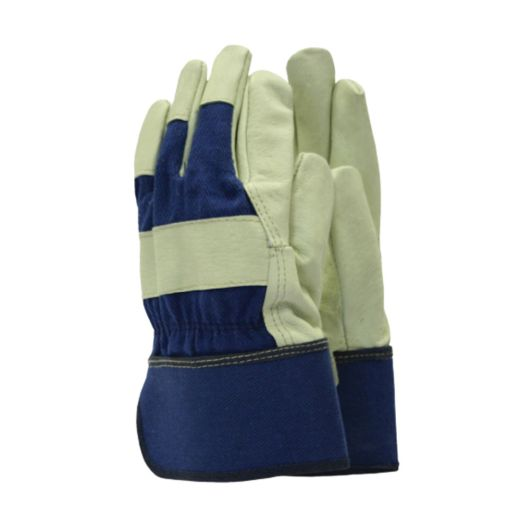 Town & Country Mens Deluxe Washable Leather Gloves