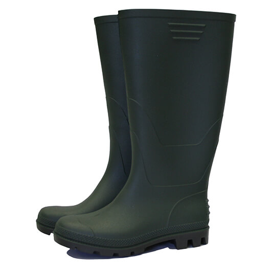 Town & Country Essentials Full Length Welly Green Size 3