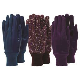 See more information about the Town & Country Ladies Gardening Gloves - 3 Pair Pack
