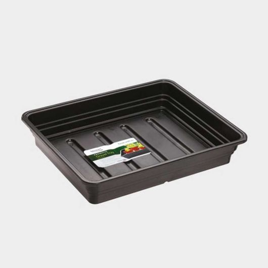Premium Extra Deep Gravel Tray 38cm - Black