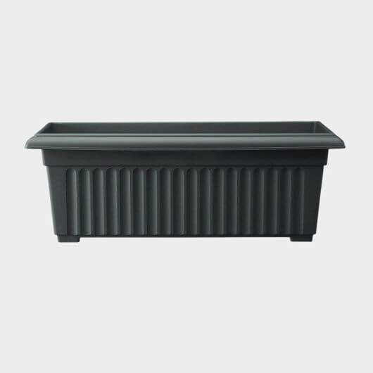Corinthian Trough 70cm Black