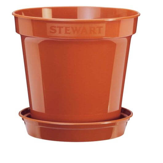 Flower Pot 18cm - Terracotta
