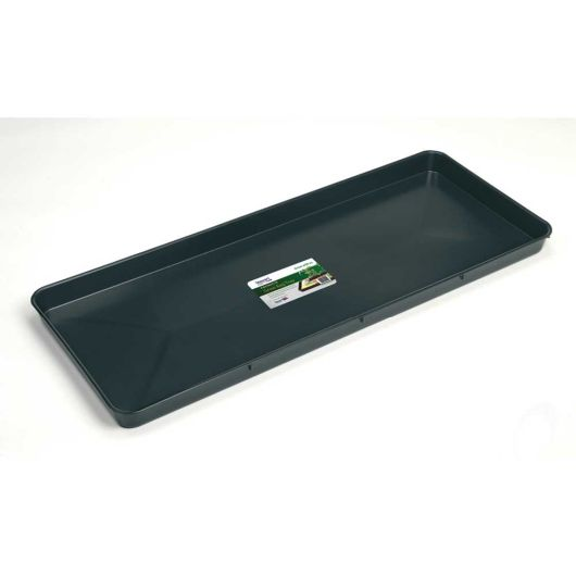 Premium Growbag Tray 100cm - Black