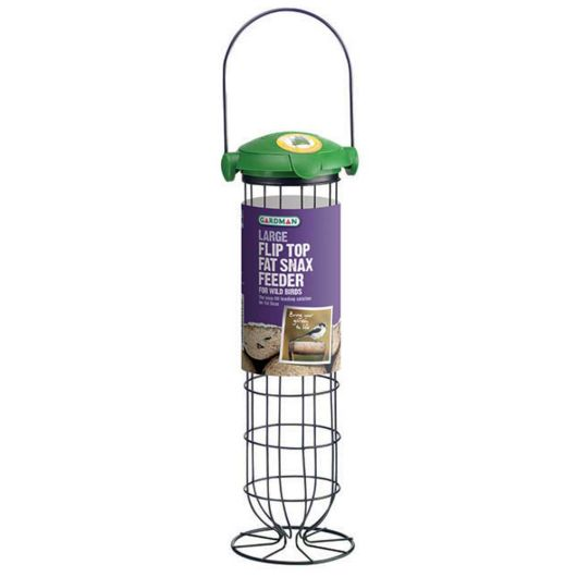 Gardman Flip Top Fat Snax Feeder - Large