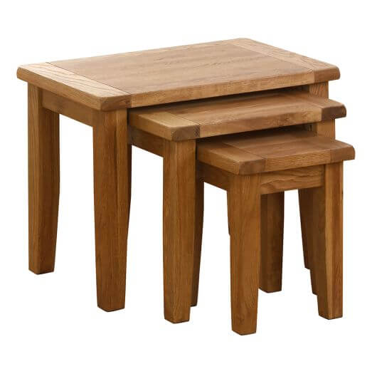 Besp-Oak Nest of Tables