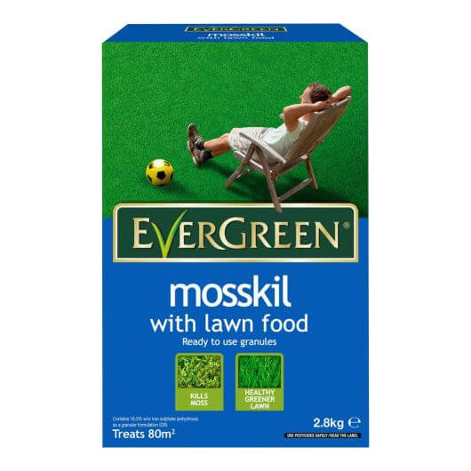EverGreen Mosskil with Lawn Food 80m²