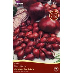 See more information about the Taylors Onion - Red Baron