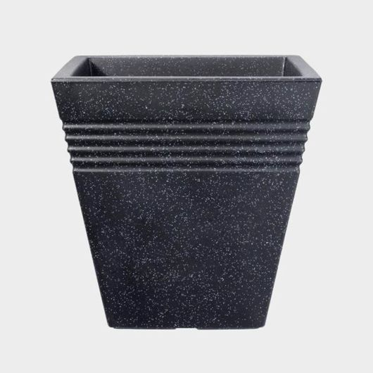 Square Piazza Planter 34cm - Granite