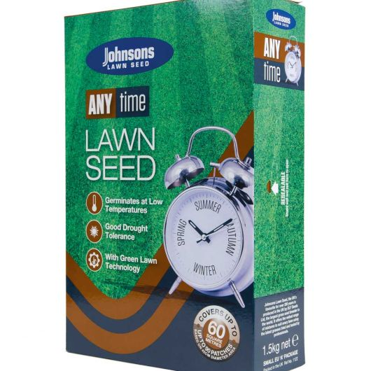 Johnsons Any Time Lawn Seed 1.5kg