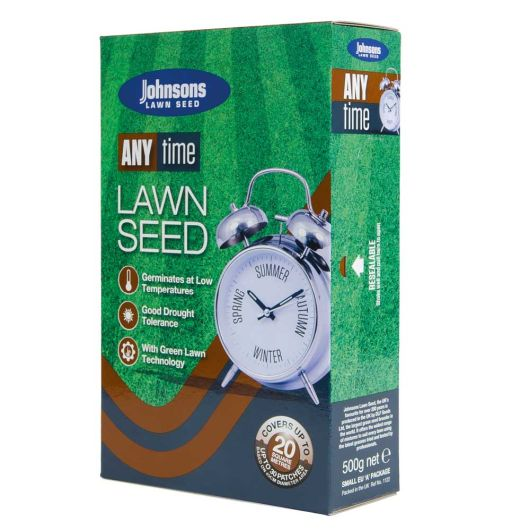 Johnsons Any Time Lawn Seed 500kg