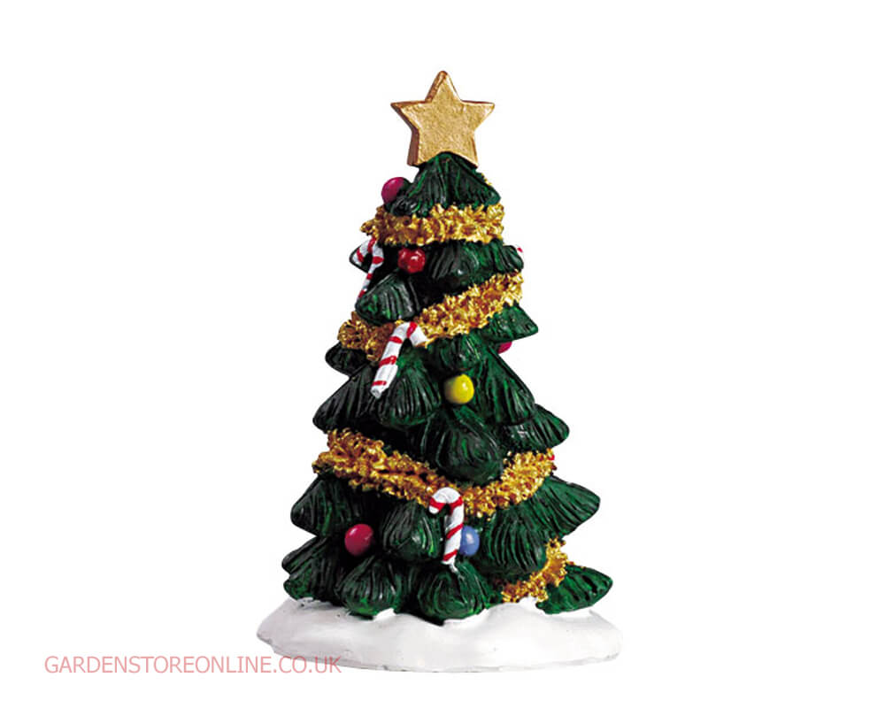 Lemax christmas tree 52023 garden store online for Garden accessories online