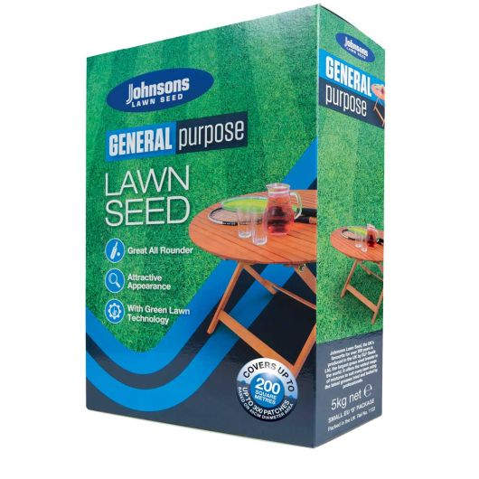 Johnsons General Purpose Lawn Seed 5kg