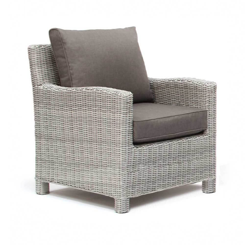 Kettler palma armchair whitewash garden store for Furniture palma