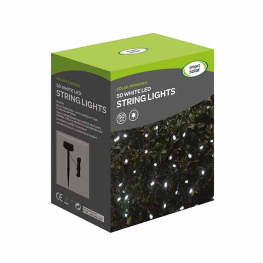 Smart Garden - 50 Cool White LEDs String Lights