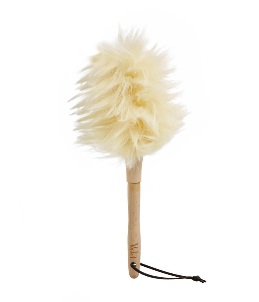 how to clean a lambswool duster