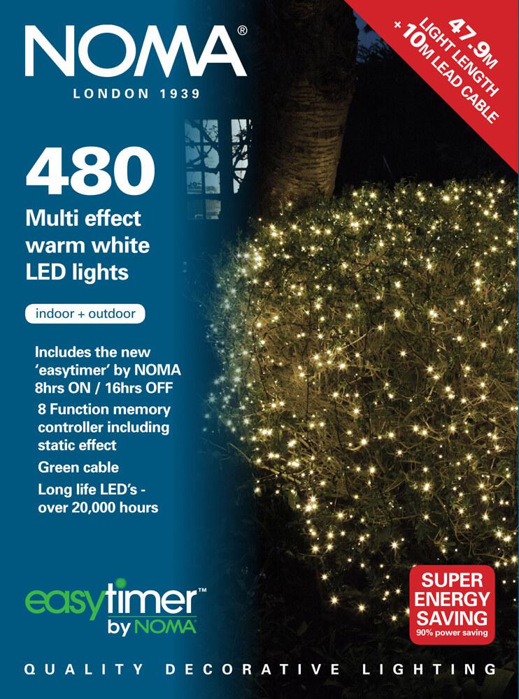 Noma String Lights Led : Noma 480 LED Warm White Lights Garden Store Online