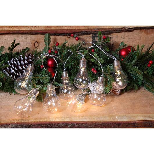 Noma Christmas Decorations: Noma Battery Operated Vintage Style 24 Bulb Lights