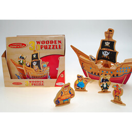 See more information about the Ackerman Wooden 3D Pirates Puzzle