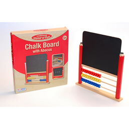 See more information about the Ackerman Wooden Chalk Board with Abacus