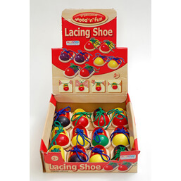 See more information about the Ackerman Wood 'n' Fun Wooden Shoe with Lace