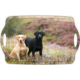 See more information about the Country Matters Tray - Labradors on the Moor