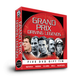 See more information about the Grand Prix Driving Legends