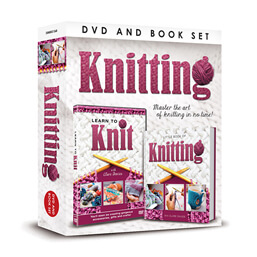 See more information about the Learn To Knit DVD & Book Set