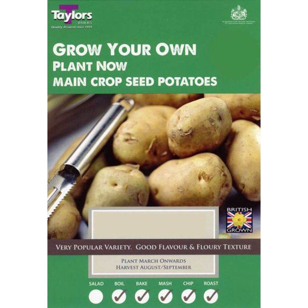 Taylors Seed Potatoes - King Edward 2kg