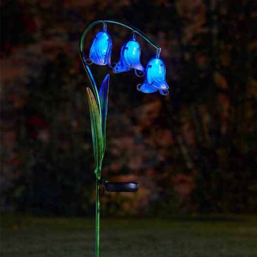 Smart Garden Solar Flower - Bluebells