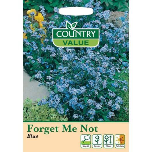 Forget Me Not Blue CV MF Seeds