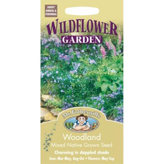 Woodland Mixture - MF Wild Flower Seeds