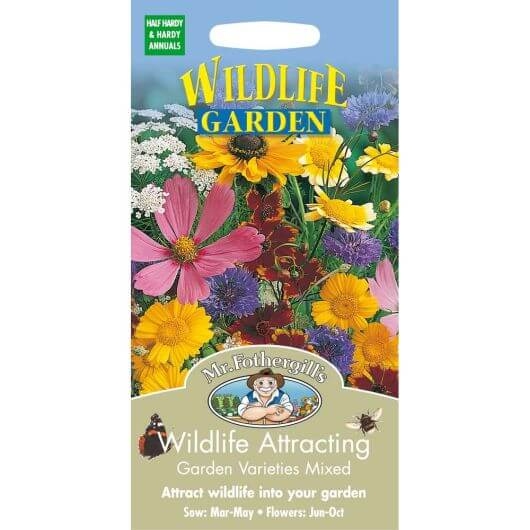 Wildlife Attracting Garden Varieties Mix - MF Wild Flower Seeds