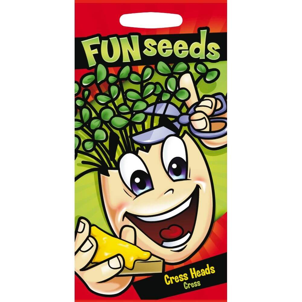 Fun Seeds Cress Head - Cress