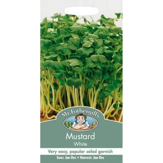 Mustard White MF Veg Seeds