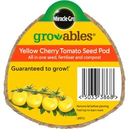 See more information about the Miracle-Gro Groables Yellow Cherry Tomato Seed Pod