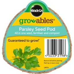See more information about the Miracle-Gro Groables Parsley Seed Pod