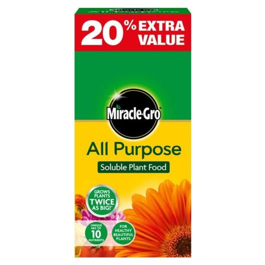Miracle-Gro All Purpose 1kg + 20% Extra Free