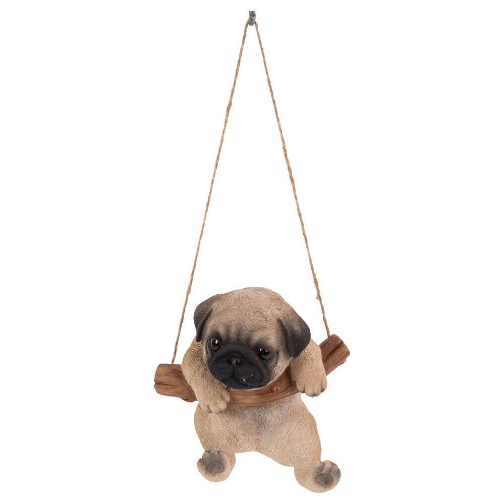 Vivid Arts Rocking Pug Puppy | Garden Store Online