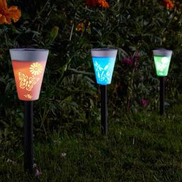 See more information about the Smart Solar Silhouette Stake Light Carry Pack of 6