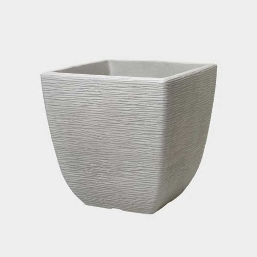 Cotswold Square Planter Limestone Grey 32cm