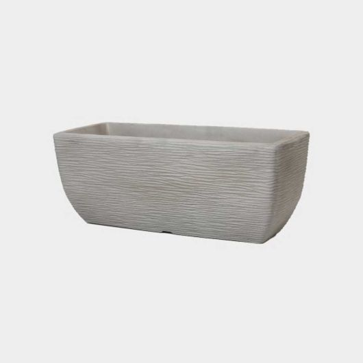 Cotswold Trough Planter Limestone Grey 60cm