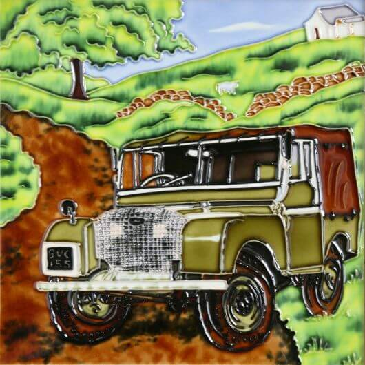 Land Rover Ceramic Tile
